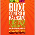 Domenica 3 Giugno: Boxe contro il razzismo (Radio Ciroma intervista Carlo Balestri, ospite dell'iniziativa)