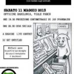 Azione Antispecista Cosenza presenta: Antispecismo in pillole – Sabato 11 Maggio at Officine Babilonia