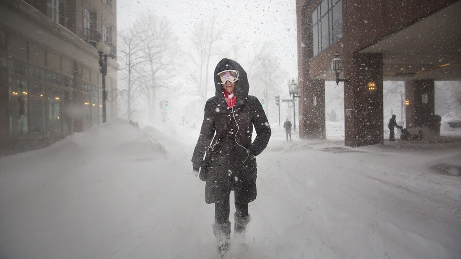 This fierce blizzard has made February Boston's snowiest month ever