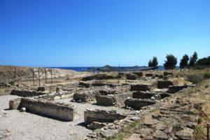 Kaulonía (Monasterace): la polis achea erosa dal mare