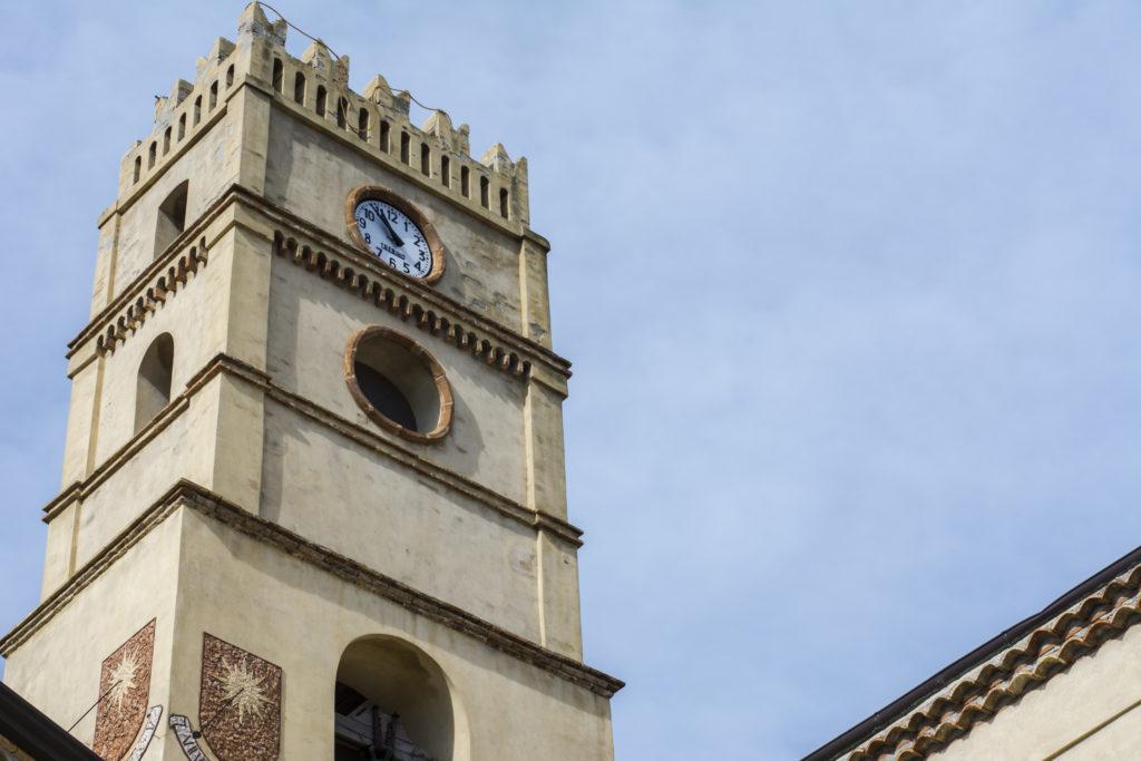 La Torre della Chiesa di San Michele Arcangelo.