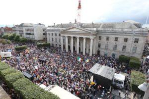 Irlanda. Continuano le proteste contro la tassazione dell'acqua
