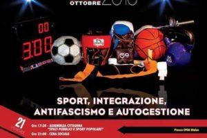 -MEETING NAZIONALE DELLO SPORT POPOLARE- 21-22-23 OTTOBRE -COSENZA-