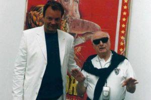Tekne ricorda il maestro Mimmo Rotella