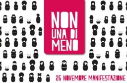 """""""Non una di meno"""" – sabato 26 novembre manifestazione nazionale a Roma"""