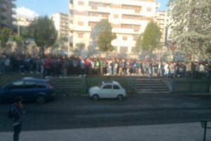 """Cosenza, studenti dell' ITIS  """"A. Monaco"""" in protesta"""