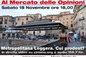 L'Arenella: il 18 novembre confronto tra i sindaci e il comitato No Metro.