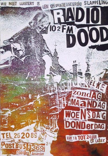 flyer radio dood