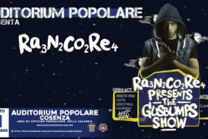 All'Auditorium Popolare l'esordio in Calabria del rapper Rancore.