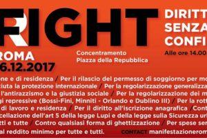 Diritti senza confini:manifestazione nazionale a Roma il 16 dicembre. Le parole di Paolo Di Vetta(AUDIO).