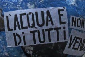 Manca l'acqua:mobilitazione dei cittadini mercoledì 6 dicembre.