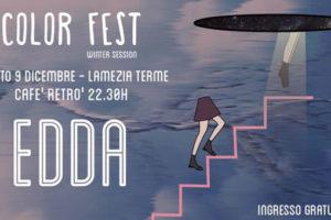 Edda in concerto al ColorFest (audio)