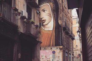 Diventerà realtà il murales della Madonna del Pilerio nel Centro Storico? (AUDIO)
