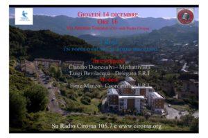 """Il 14 dicembre dialogo sulle frequenze di Radio Ciroma:""""I Rom un popolo giusto al posto sbagliato""""."""