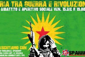 """""""Siria tra guerra e rivoluzione"""": oggi pomeriggio iniziativa pubblica a Rende."""