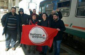 Nicoletta Dosio in Calabria contro l'alta velocità per il diritto alla mobilità(AUDIO)