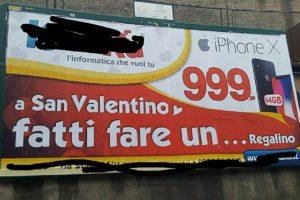 Cosenza: come ogni anno rispunta la pubblicità sessista.