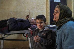 La Turchia bombarda l'ospedale di Afrin: massacro di civili. L'U.E è complice