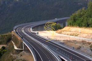 A2, l'autostrada dei birilli