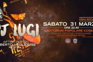 "Dj Lugi torna a casa: sabato live al ""Rialzo"""