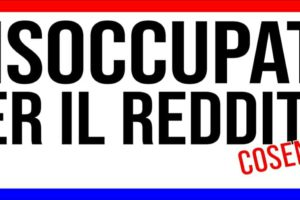 """Cosenza,i disoccupati si organizzano:""""senza reddito non possiamo vivere"""""""