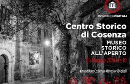 Domenica 6 Maggio #InvasioniDigitali a Cosenza