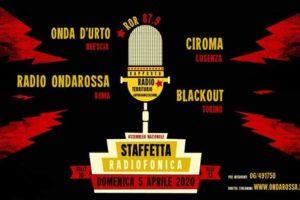 5 APRILE: Staffetta Radiofonica Nazionale