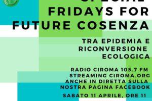 FFF Cosenza: Tra epidemia e riconversione ecologica