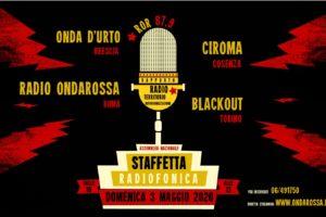 3 MAGGIO: Staffetta Radiofonica Nazionale
